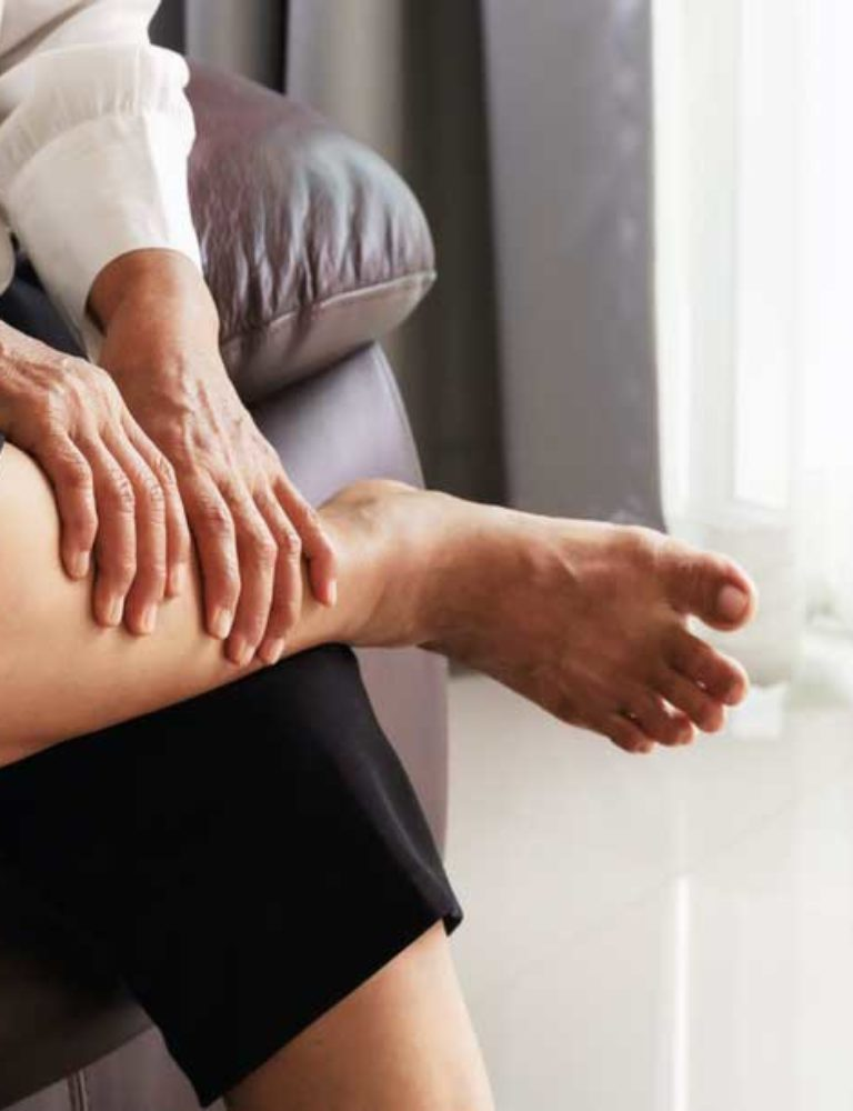 vein disease cause painful leg